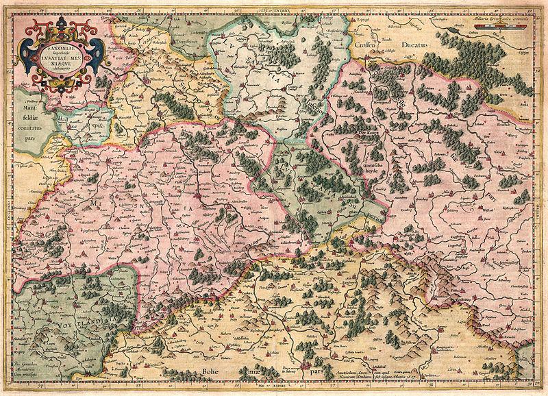 Saxonia Superioris Lusatiae