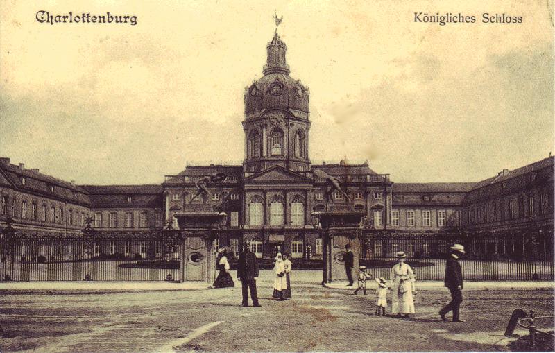 schloss charlottenburg berlin 1900